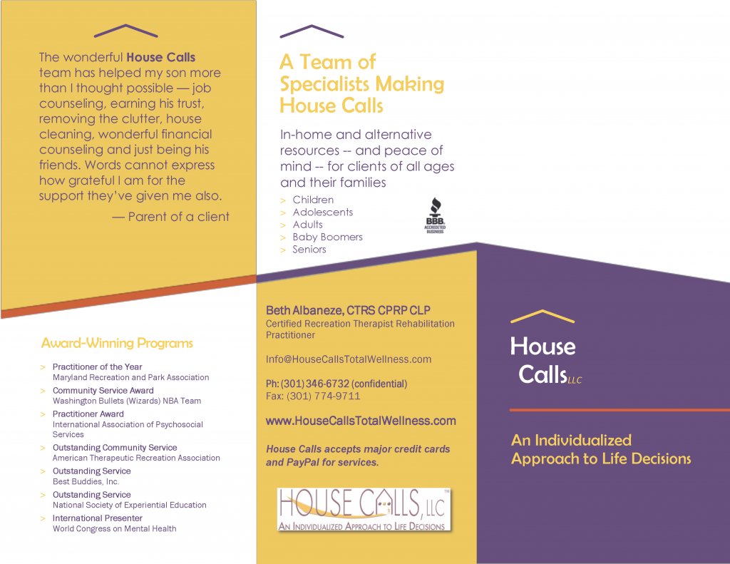 House Calls, LLC Brochure